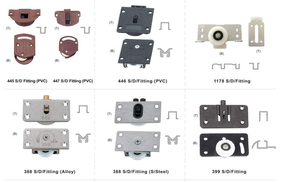 Sliding Door Fitting Series