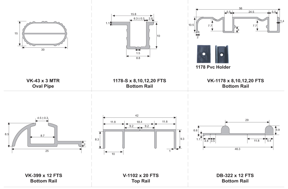 Aluminium Extrusion Series