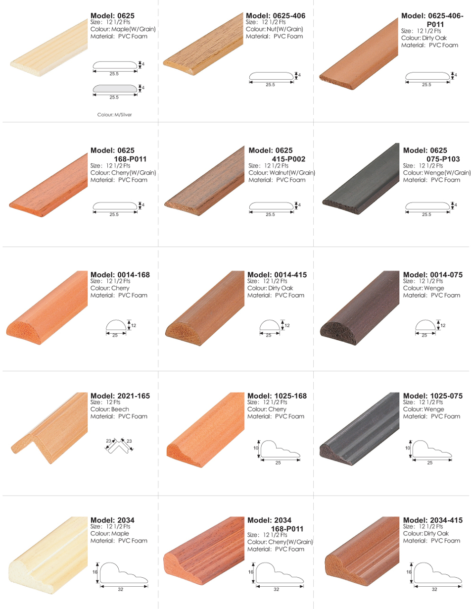 Foam Lining / Ceiling / Decking / Picket Fencing Series
